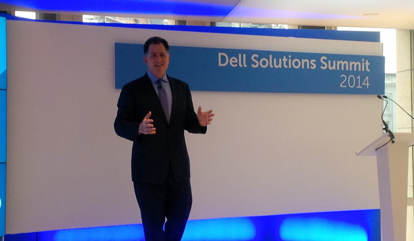 """Michael Dell: """"Security has just got to be part of what you do every single day"""""""