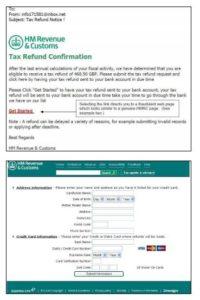 HMRC Scam email