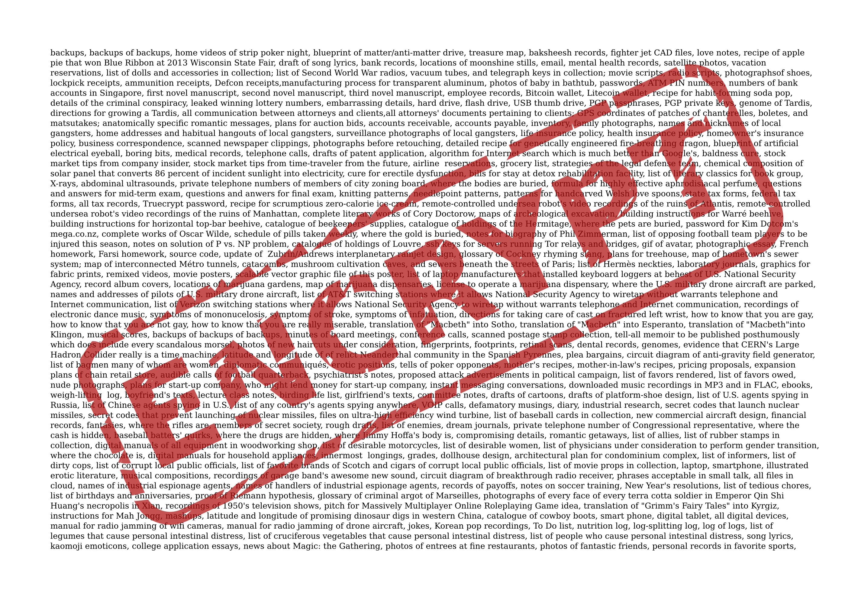Encrypt Everything! Don't let security be the reason you don
