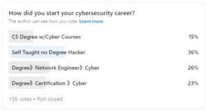 Just What Does It Take to Develop a Career in the Cybersecurity Domain?